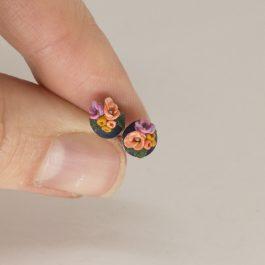 Edelstahl Ohrringe Mini Florinchen